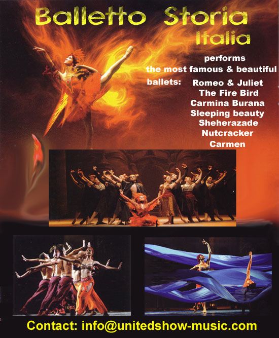 Fire Bird Balletto storia Italia