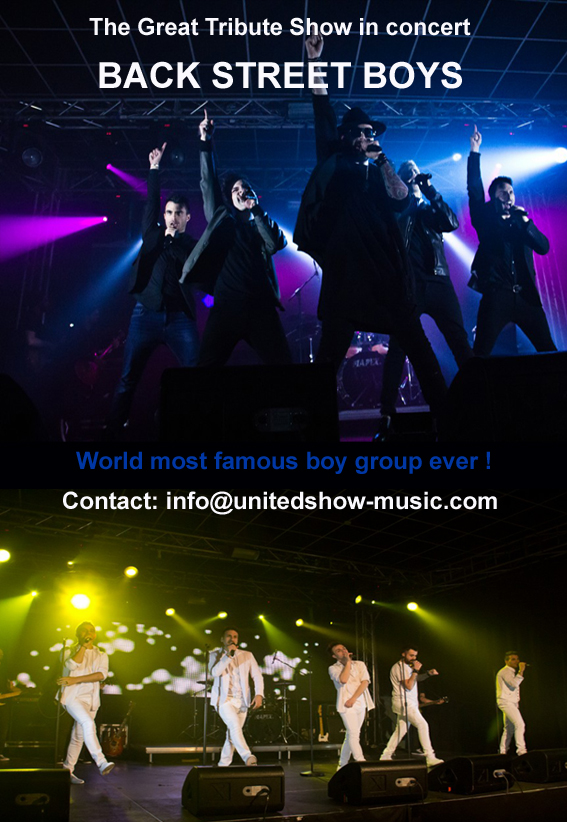Back Street Boys Tribute Show